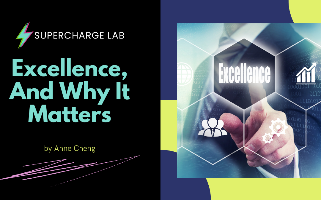 Excellence, And Why It Matters